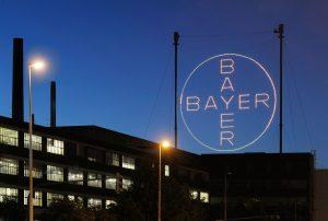 Das Bayer-Kreuz bei Nacht -------------------------- The Bayer Cross at night
